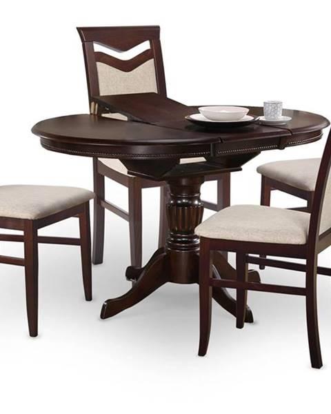 Halmar William rozkladací jedálenský stôl tmavý vlašský orech