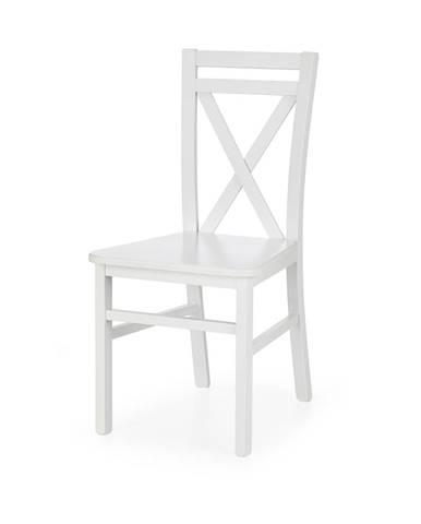 Dariusz 2 jedálenská stolička biela