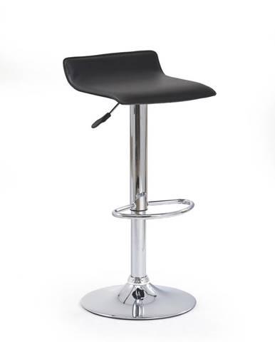 H-1 barová stolička čierna