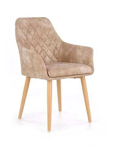 K287 jedálenská stolička béžová