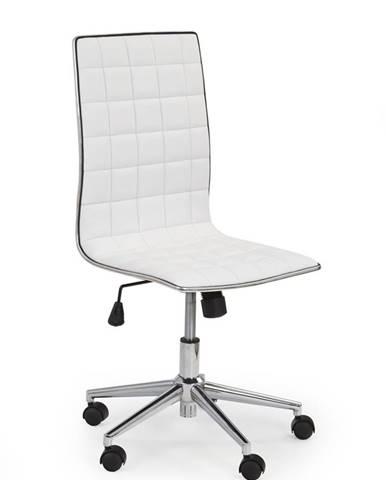 Tirol kancelárska stolička biela