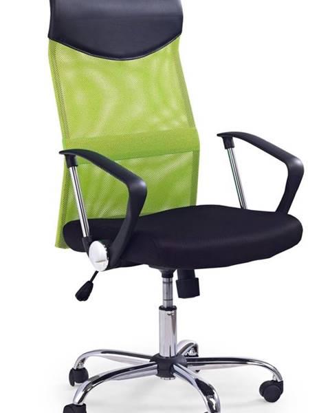 Halmar Vire kancelárska stolička s podrúčkami zelená