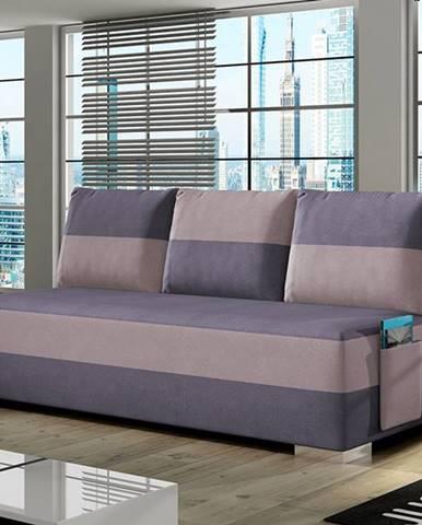 Adria rozkladacia pohovka s úložným priestorom fialová