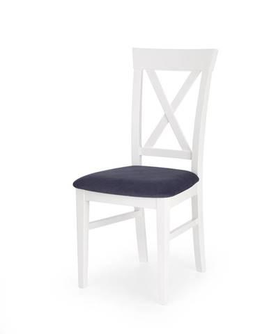 Bergamo jedálenská stolička biela