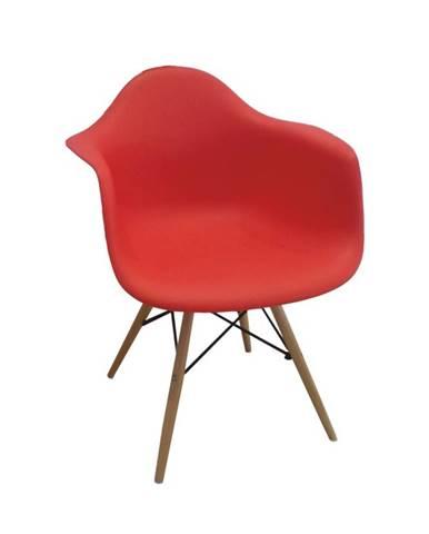 Damen New jedálenská stolička červená
