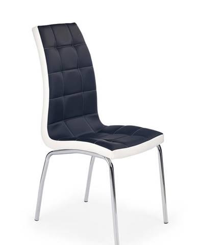 K186 jedálenská stolička čierna