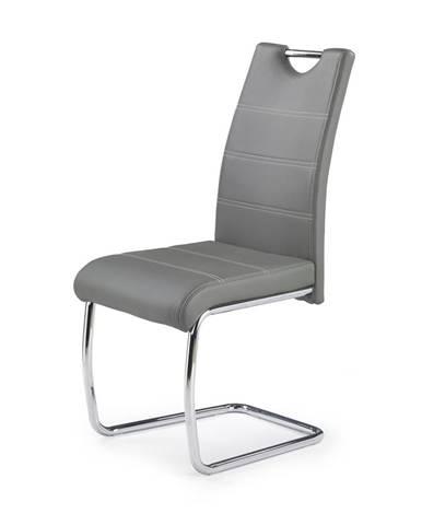 K211 jedálenská stolička sivá