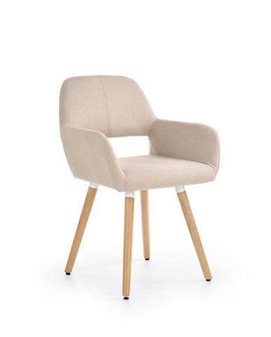 K283 jedálenská stolička béžová