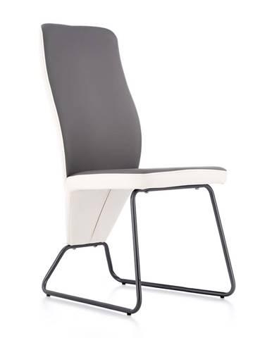 K300 jedálenská stolička sivá