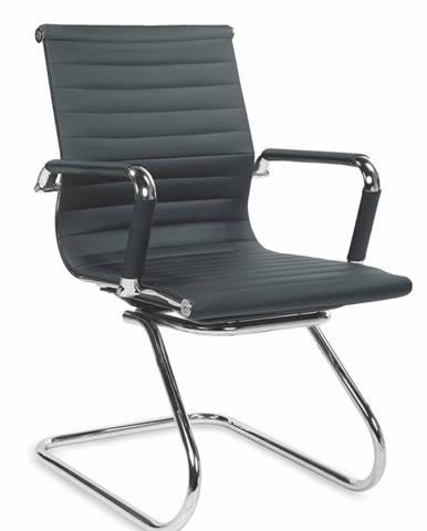 Prestige Skid kancelárska stolička s podrúčkami čierna