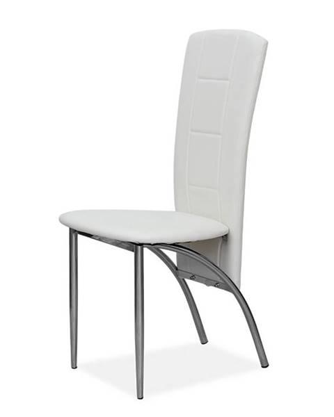 Tempo Kondela Fina jedálenská stolička biela