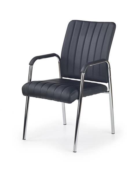 Halmar Vigor kancelárska stolička s podrúčkami čierna