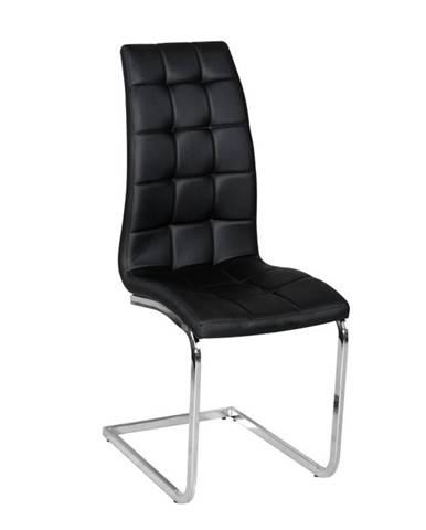 Dulcia jedálenská stolička čierna
