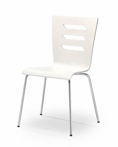 K155 jedálenská stolička biela