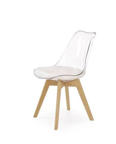K246 jedálenská stolička biela