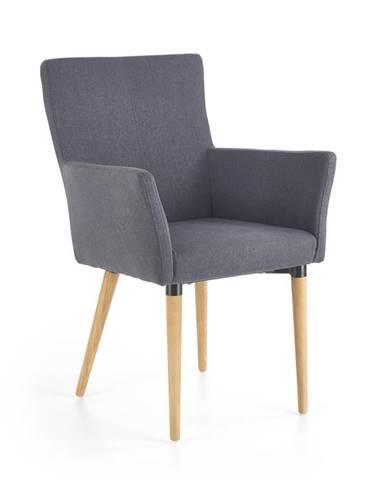 K274 jedálenská stolička tmavosivá
