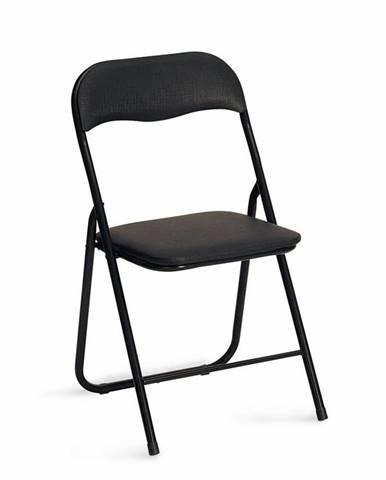 K5 jedálenská stolička čierna