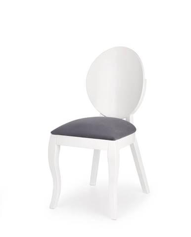 Verdi jedálenská stolička biela