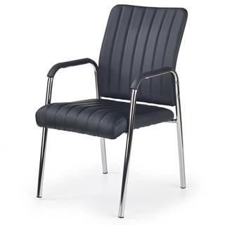 Vigor kancelárska stolička s podrúčkami čierna