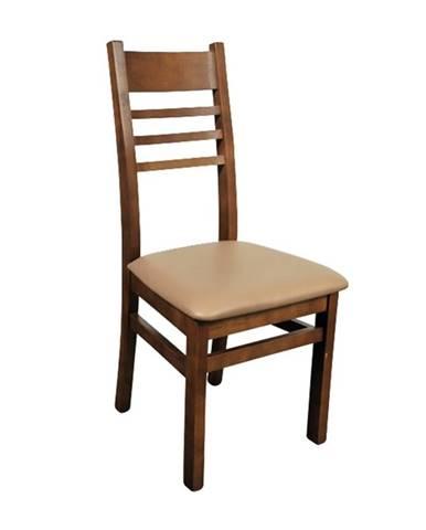 Caro III jedálenská stolička drevo D3