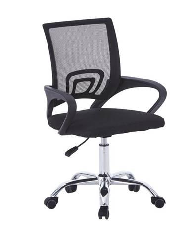 Dex 2 New kancelárska stolička s podrúčkami čierna
