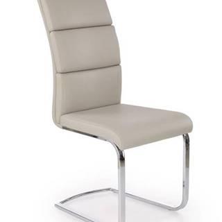K230 jedálenská stolička svetlosivá