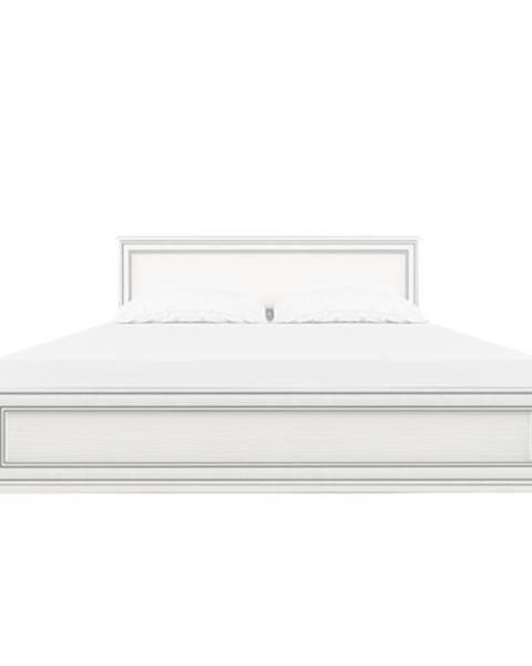 Tempo Kondela Tiffy 10 160 manželská posteľ s roštom woodline krém