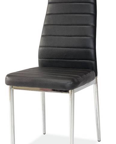 H-261 jedálenská stolička čierna