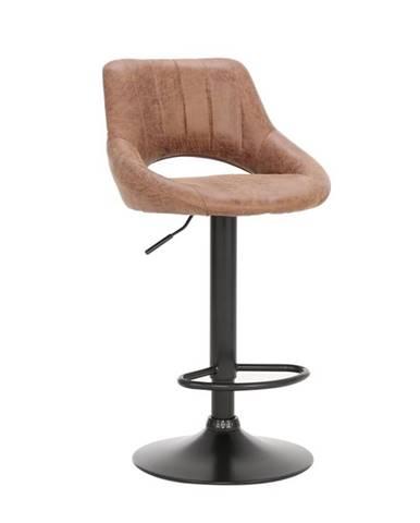 Lorasa barová stolička hnedá