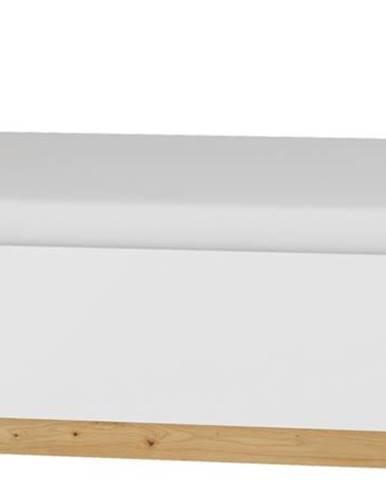 Maximus MXS-18 160 manželská posteľ s roštom dub artisan