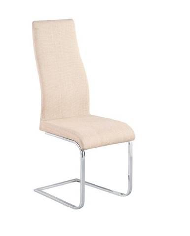 Amina jedálenská stolička béžová