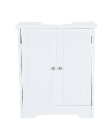 Atene Typ 3 kúpeľňová skrinka pod umývadlo biela