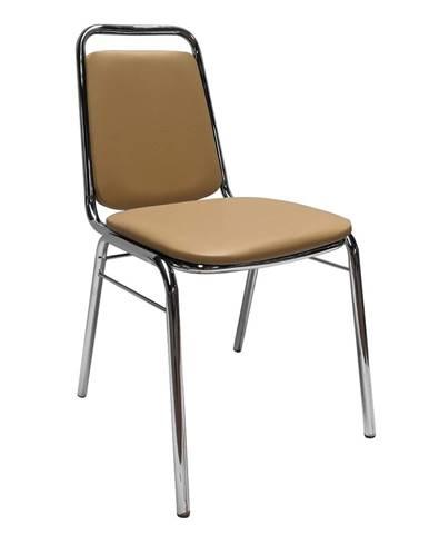 Zeki konferenčná stolička hnedá