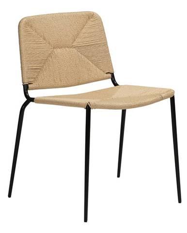 Béžová stolička DAN-FORM Denmark Stiletto
