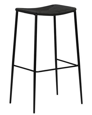 Čierna barová stolička DAN-FORM Denmark Stiletto