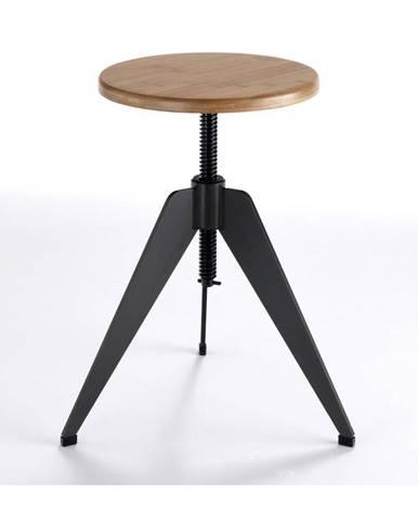 Stolička so sedadlom z dubového dreva Tomasucci Arco