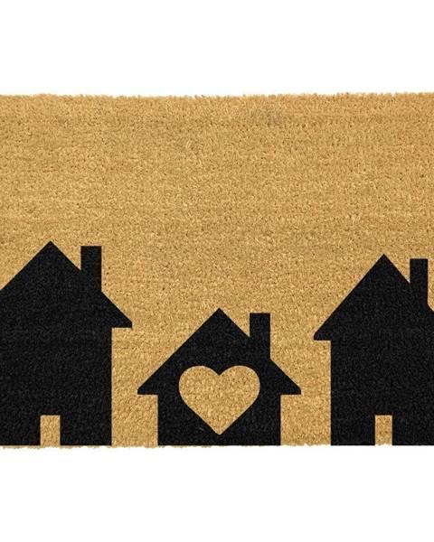 Artsy Doormats Rohožka z prírodného kokosového vlákna Artsy Doormats Home is Where, 40 x 60 cm