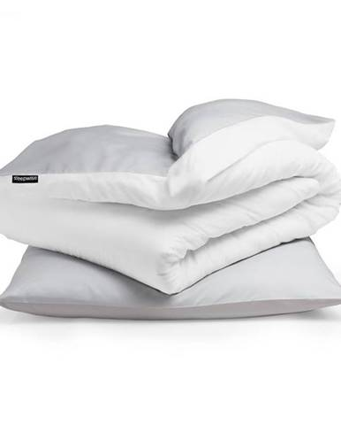 Sleepwise Soft Wonder-Edition, posteľná bielizeň, 135x200cm, svetlo sivá/biela