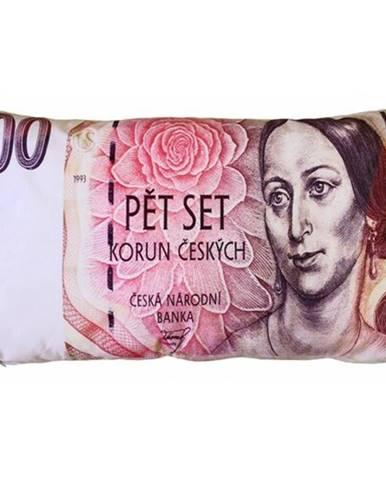 JAHU Vankúšik Bankovka 500 Kč, 35 x 60 cm