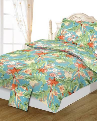 Jahu Bavlnené obliečky Jungle, 140 x 200 cm, 70 x 90 cm, 40 x 40 cm