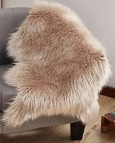 Tempo Kondela Umelá kožušina béžová, 60 x 90 cm