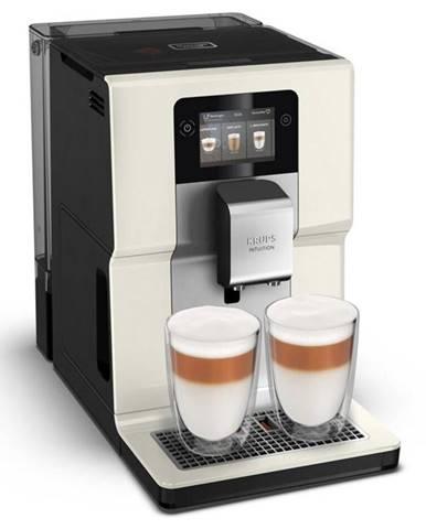 Espresso Krups Intuition Preference EA872A10 čierne/krémov