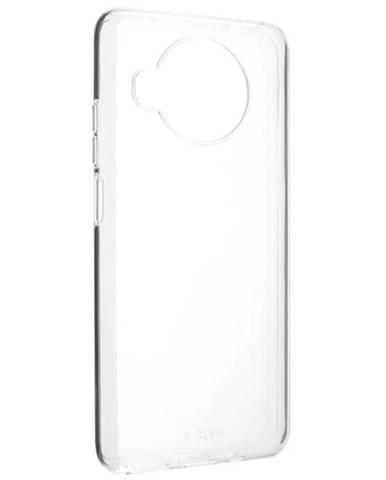 Kryt na mobil Fixed na Xiaomi Mi 10T Lite priehľadný