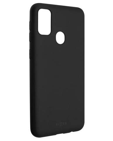 Kryt na mobil Fixed Story na Samsung Galaxy M21 čierny