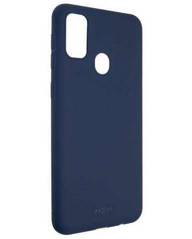 Kryt na mobil Fixed Story na Samsung Galaxy M21 modrý