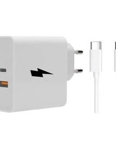Nabíjačka do siete WG 1x USB, 1x USB-C, PD, QC 3.0, 63 W + USB-C