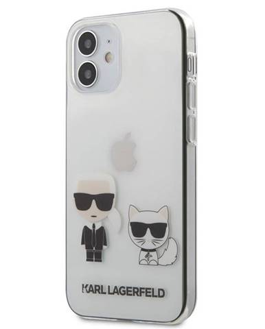 Kryt na mobil Karl Lagerfeld Karl &Choupette na Apple iPhone 12