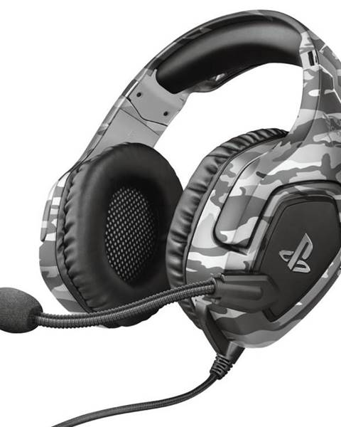 Trust Headset  Trust GXT 488 Forze-G Sony PS4 Licensed sivý