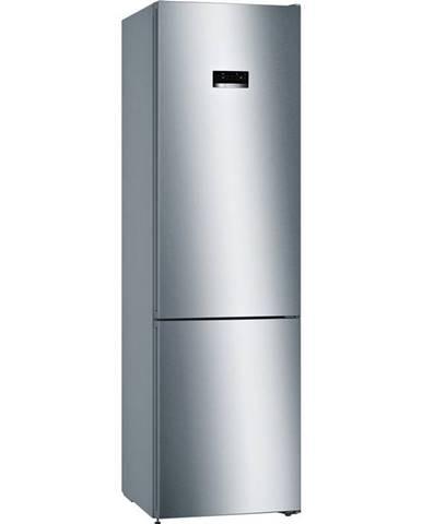Kombinácia chladničky s mrazničkou Bosch Kgn393ida nerez