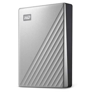 Externý pevný disk Western Digital My Passport Ultra 4TB strieborný